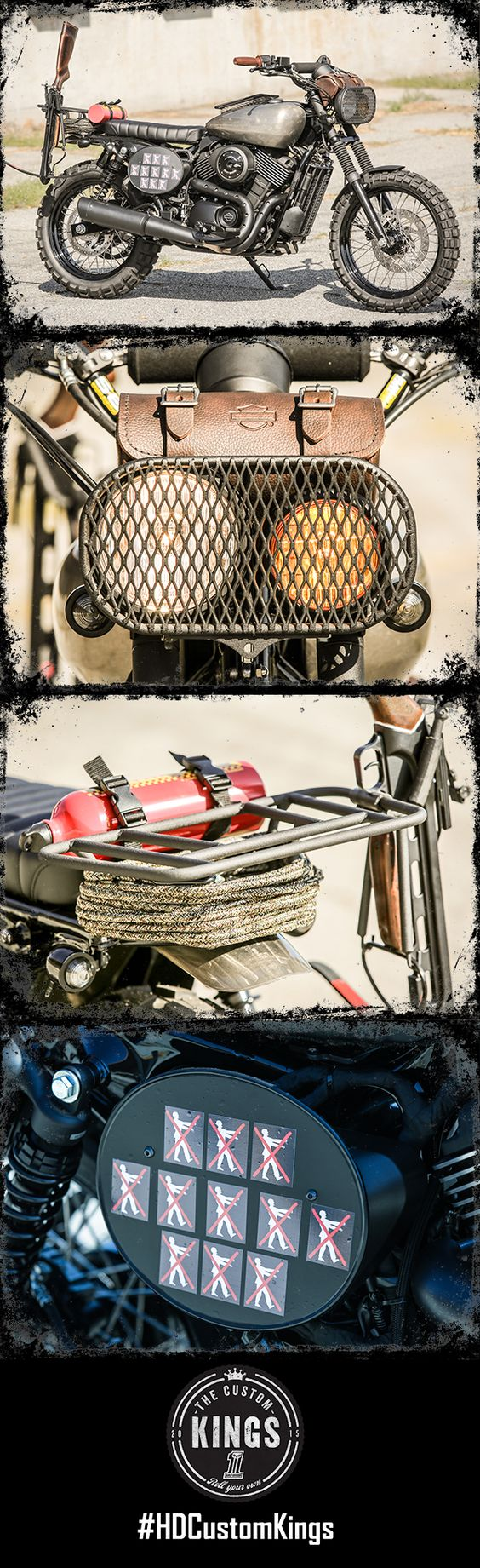 Los Angeles Harley-Davidson of Anaheim's #HDStreet scrambler