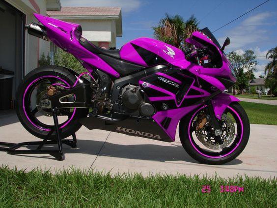 Love the purple!! Honda cbr600