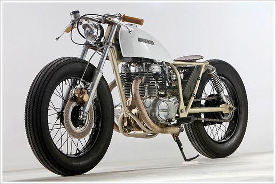 Micah Vince's '74 Honda CB 360 - Pipeburn - Purveyors of Classic Motorcycles, Cafe Racers & Custom motorbikes