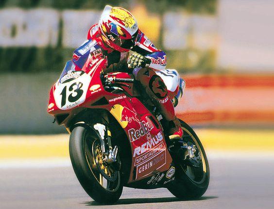 Michael Rutter. Red Bull Ducati.