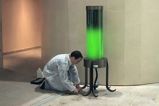 #Microalgae Lamp #Absorbs #CO2 From the Air | Inhabitat - #Sustainable #Design #Innovation, #Eco #Green Building