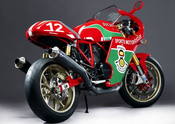 Mike Hailwood replica Ducati 1000s, history meets technology