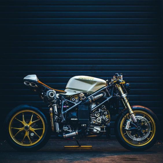"""Mike Le on Instagram: """"The turbo cafe 848 in Seattle. Photo by: @daniel_zetterstrom Like my business FB page /kineticmotorcycles"""""""