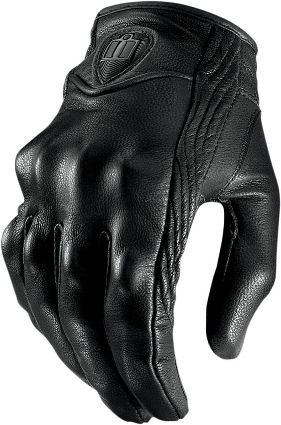 Ministry of Bikes - Icon Pursuit Motorcycle Gloves - Stealth, £ ()