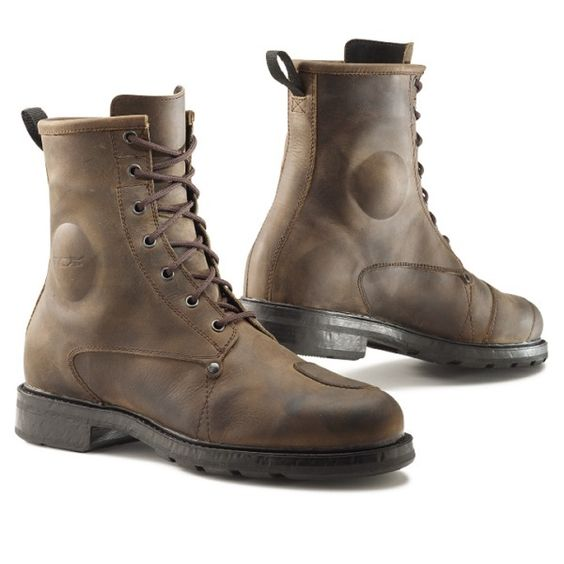 Ministry of Bikes - TCX Motorcycle Boots X-Blend W/P Brown Boots, £  #MOBrules