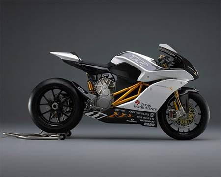 mission r electric motorcycle photo