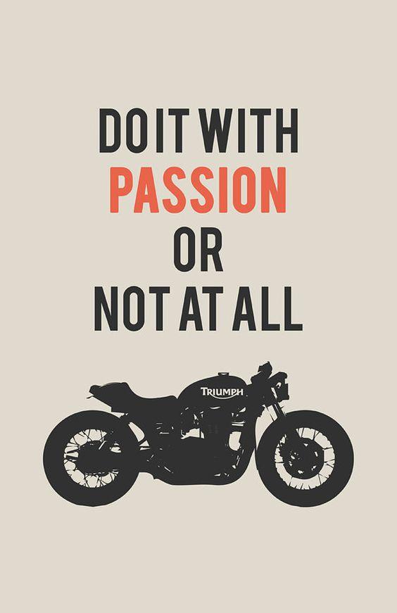 #MOBrules #Triumph #passion