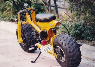 modified honda 90 dirt bike | HONDA SUPER CUB 90 WITH FAT TIRES By CUSTOM BIKE LIGHT, JAPAN