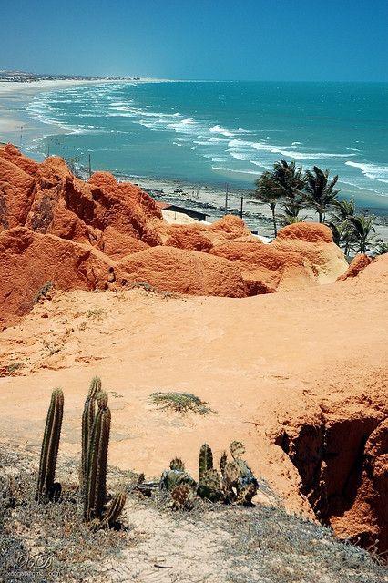 Morro Branco beach, Ceara, Brazil #TravelPhotography