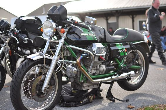 Moto Guzzi 1000S belonging to Scott Seiber | by SmokeAndThrottle