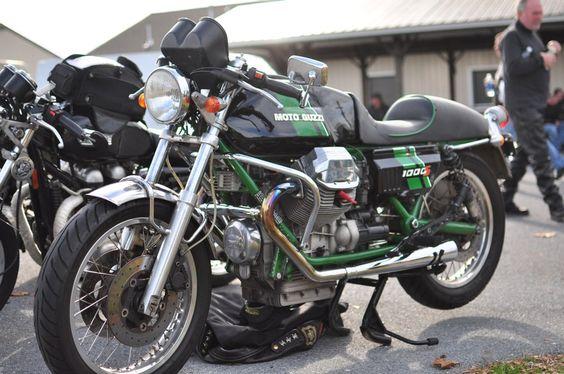 Moto Guzzi 1000S belonging to Scott Seiber | by SmokeAndThrottle