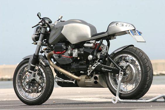 Moto Guzzi 1100 'Anima' by Officine Rossopuro