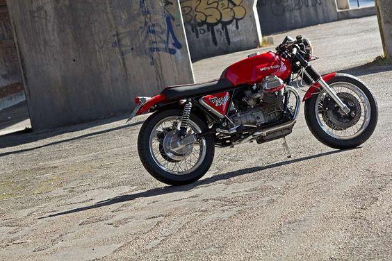 Moto Guzzi 850 T3 Condor 2011 by Officine Rossopuro