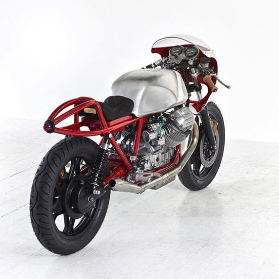 MOTO GUZZI 'AIRTAIL' ~ DEATH MACHINES ~ ROCKETGARAGE