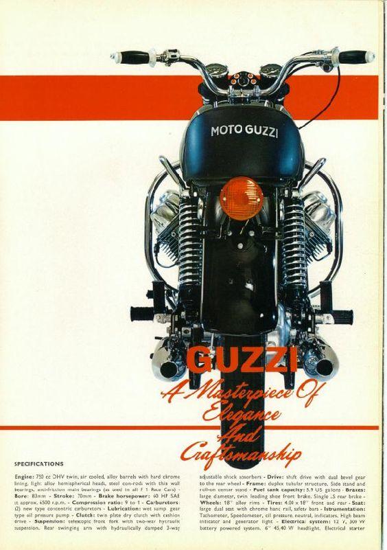 Moto Guzzi Ambassador Factory Brochure, Page 4 of 6.