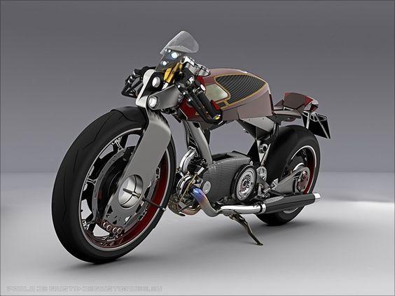 Moto Guzzi Big Mono Naked SD Concept - Pipeburn - Purveyors of Classic Motorcycles, Cafe Racers & Custom motorbikes