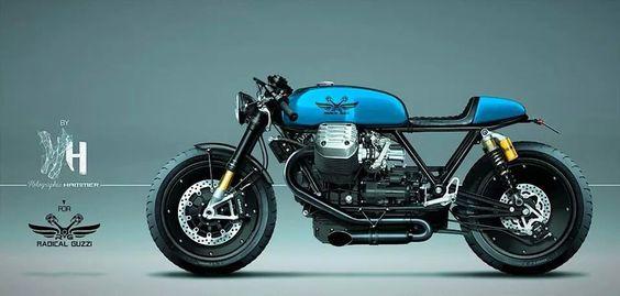 Moto Guzzi - Cafe racer