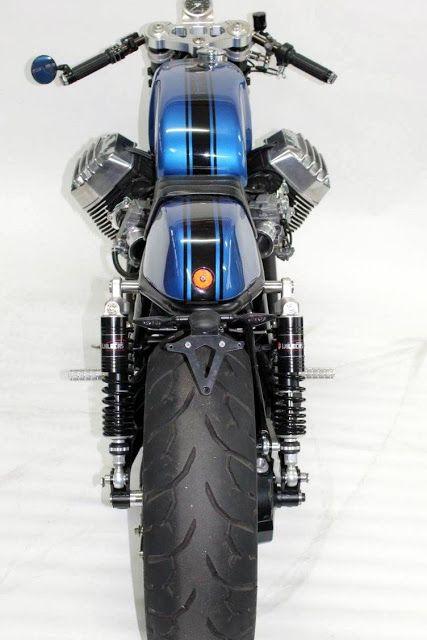 "Moto Guzzi Cafe Racer ""Cafe Ristretto"" by Radical Guzzi #motorcycles #caferacer #motos |"