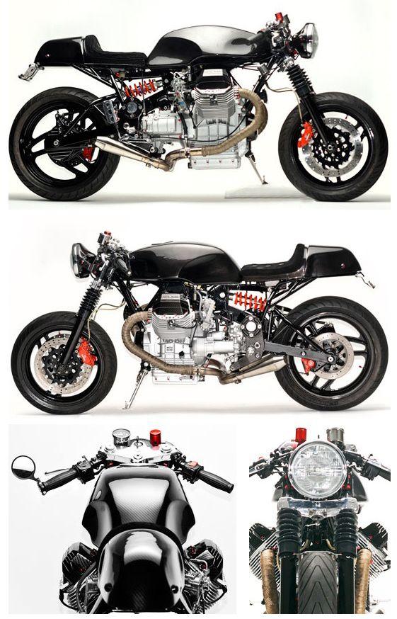 Moto Guzzi Cafe Racer #motorcycles #caferacer #motos |