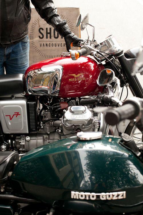Moto Guzzi Cafe Racers