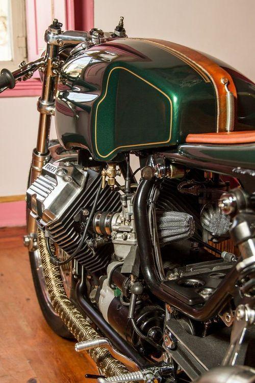 Moto Guzzi #CafeRacer |