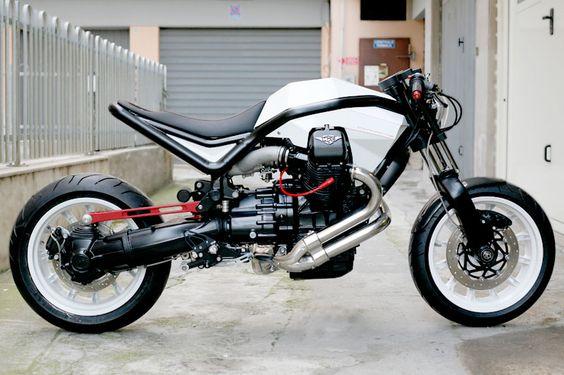 Moto Guzzi Diamante V8 1400 140 CV, Filippo Barbacane, 2009