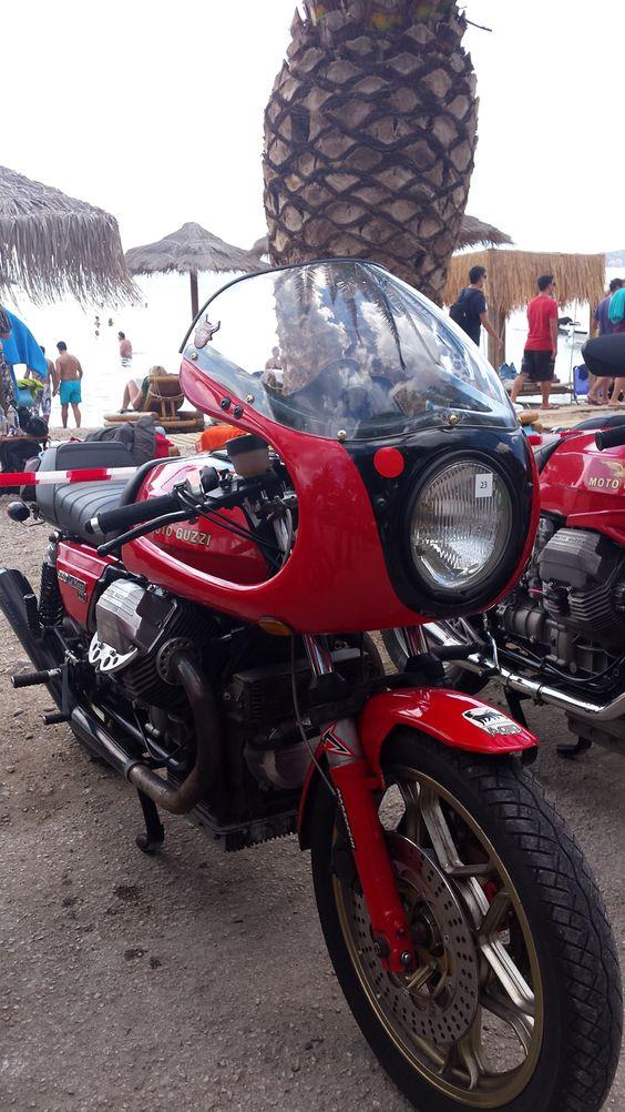 Moto Guzzi Le Mans Cafe Racer #MotoGuzzi #caferacercult #caferacer