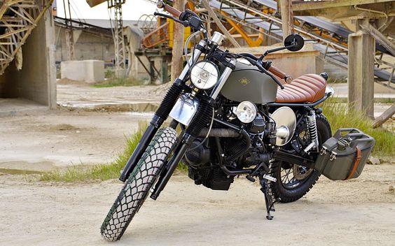 Moto Guzzi Nevada 750 Scrambler - Grease n Gasoline