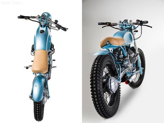 Moto Guzzi V 35 TT Scrambler by Matteucci Garage – OTOMOTIF USA – Everything old is cool again