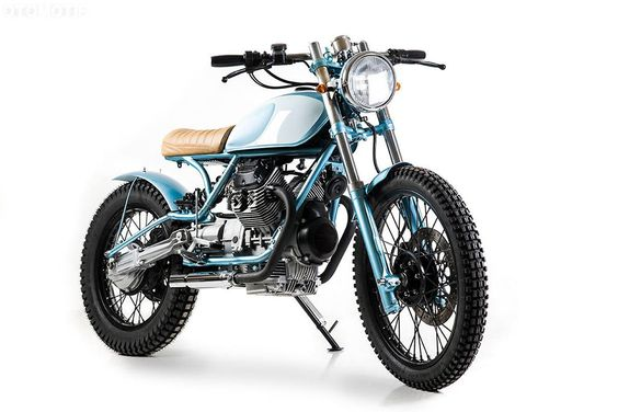 Moto Guzzi V 35 TT Scrambler by Matteucci Garage – OTOMOTIF USA – Everything old is cool again