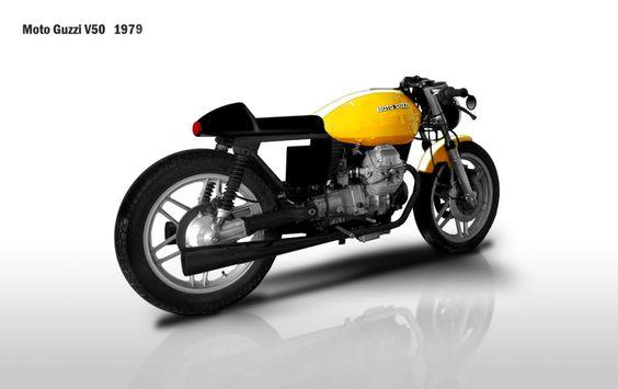 Moto Guzzi V50 II Cafe