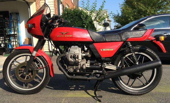 Moto Guzzi V50 Monza |