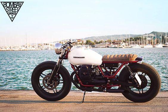 MOTO GUZZI V65 - BOMBAY STREET GARAGE - HELL KUSTOM