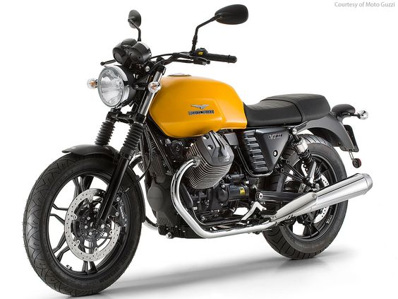 Moto Guzzi V7 II Stone 2015 - Engine Type 90° V-twin 4-stroke - Capacity 744 cc - Power 37 kW (50HP) at 6,200 rpm - Torque  ft lbs. / 58Nm at 5,000 rpm - Gearbox 5-speed - Front wheel 18