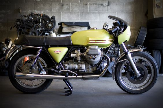 Moto Guzzi V7 Sport '72 Replica Racer rebuilt by Staghead Moto