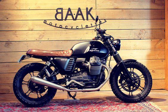 Moto Guzzi V7 urban scrambler