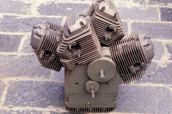 Moto-Guzzi W4 Engine | W4 Engine | W Engine Configuration | Moto Guzzi | W Type Engine W 4