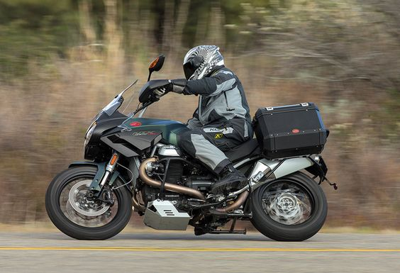 Moto Guzzi's approach to the ADV market is typically iconoclastic. Solid performance and high value are among the Stelvio's strengths