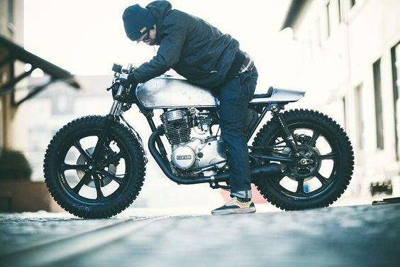 Moto-Mucci: DAILY INSPIRATION: Yamaha XS360 by The Hookie