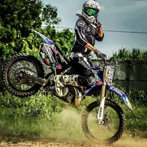 Motocross 1 handed stop-e