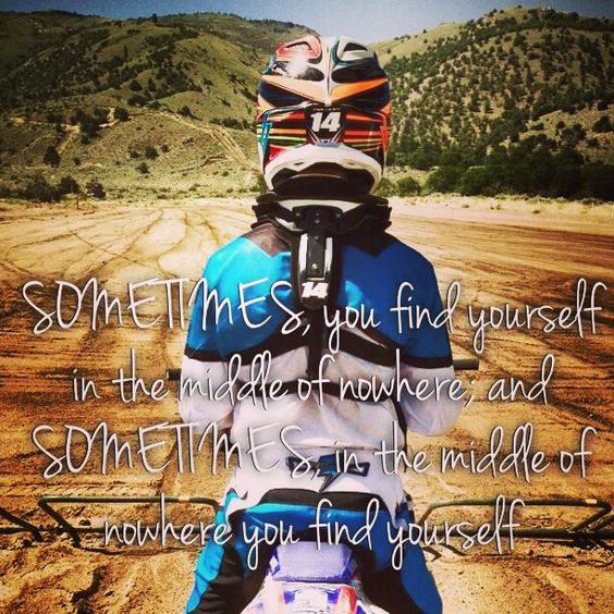 Motocross quote
