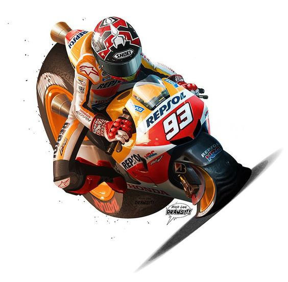 MotoGP cartoons