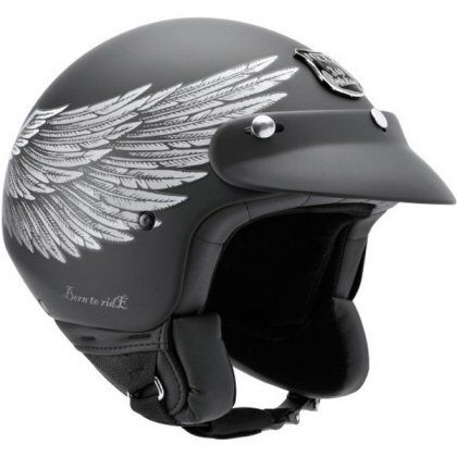 Motorcycle Helmets  Nexx x60 Eagle Rider open face road helmet. Used with goggles  for casual riding from pitstop to cafe.     - sport helmets for men women and children