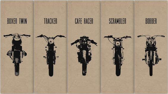 Motorcycles | Vintage | Cafe Racer | Scrambler | Boxer Twin | Tracker