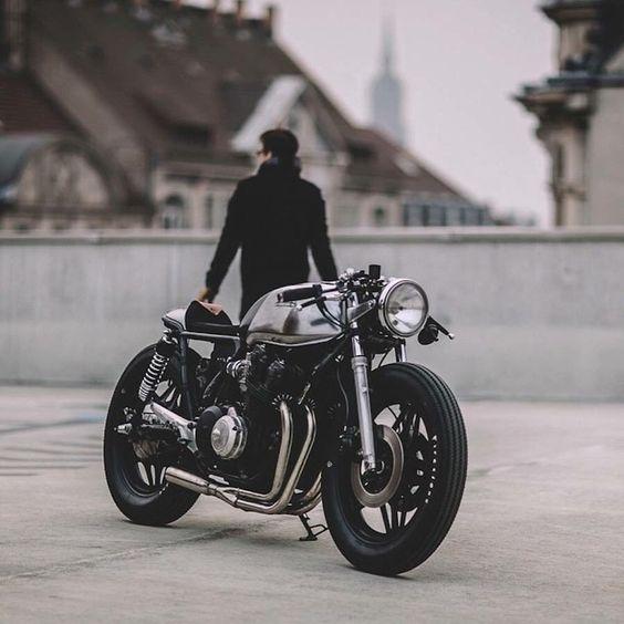 Motorrad Honda CB750KZ Cafe Racer Komplettumbau Bj 83 Km ,00 | eBay