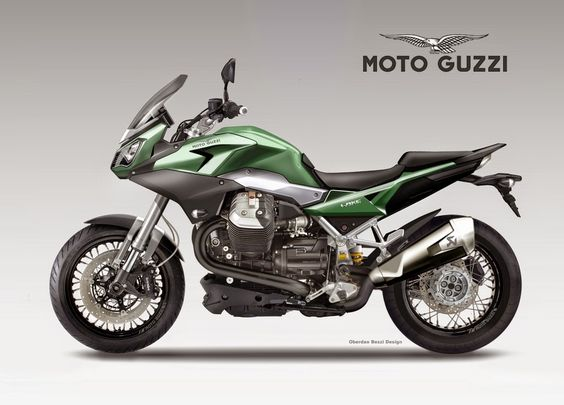 Motosketches: MOTO GUZZI