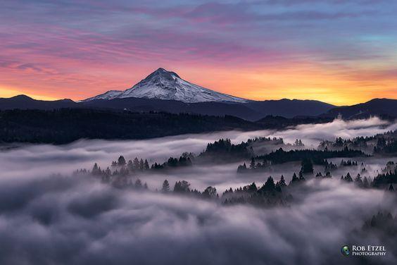 ***Mount Hood, Oregon by Rob Etzel
