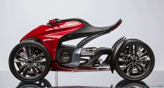 Munich's University of Applied Sciences Imagines the Four-Wheeled Ducati   Form Trends