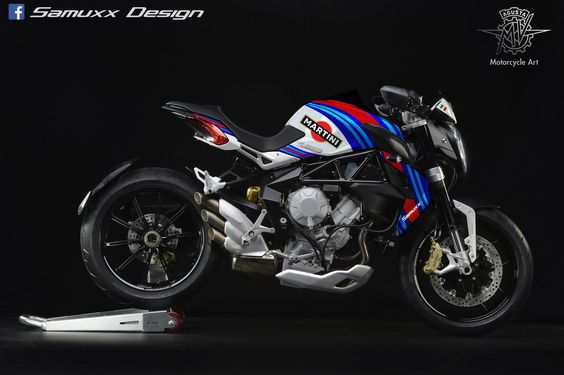 Mv Agusta Dragster Martini Racing by SAMUXX