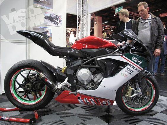 MV Agusta F3 racebike.